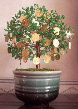 Денежное дерево своими руками как его сделать