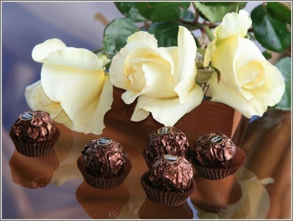 Поздравление веселья виноградного шоколадного