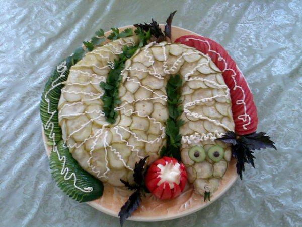 Новогодние рецепты в год змеи