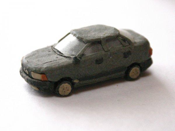 Машина из глины
