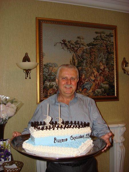 Фото: Сладкий кораблик! Подарок от друзей на День Рождения. - Viktor, 64 года, Калининград