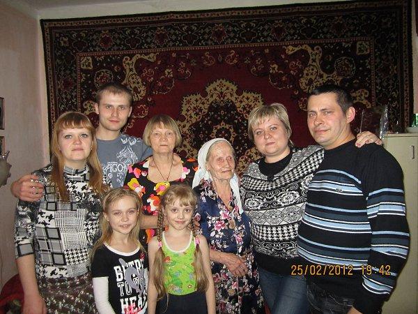 Фото - Моя семья: : я подруга бабушка дядя тётя мама папа и сродная тётя - соня, Курган