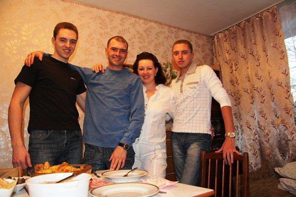 Фото - Моя семья: : Я и мои три сына! - Таня, 59 лет, Мюнхен