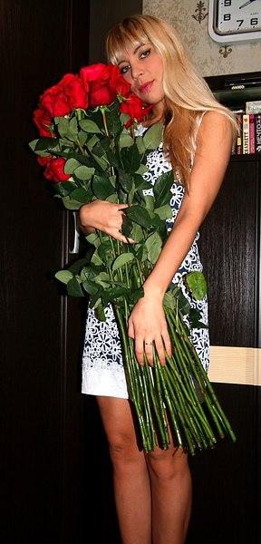 Фото подарка на Новый год: цветы - Юлия******, 23 года, Харьков