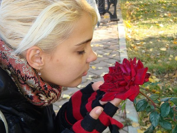 Фото в парке: Пришла весна,тепло,цветы... - Танечка, 28 лет, Москва