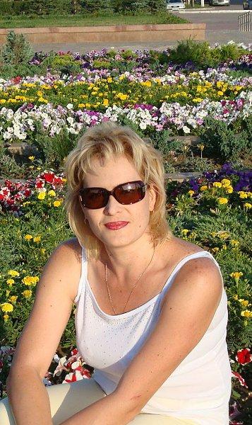 Фото в парке: красивая клумба - Иринка ~**~, 43 года, Санкт-Петербург