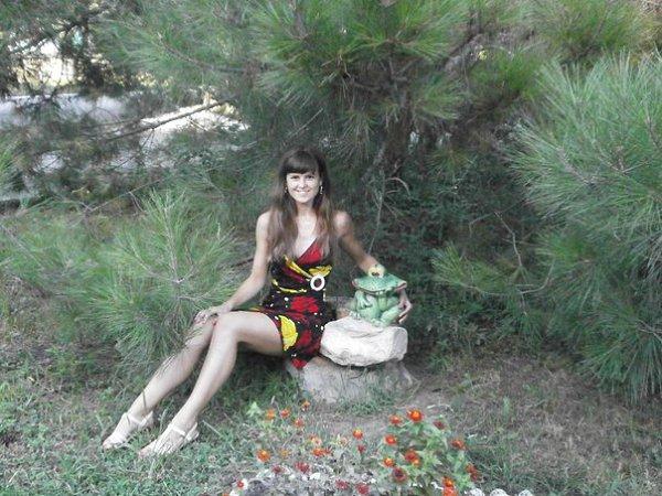 Фото в парке: Сидим, ждём, когда прилетит стрела от Ивана-царевича. - Ольга, 29 лет, Санкт-Петербург