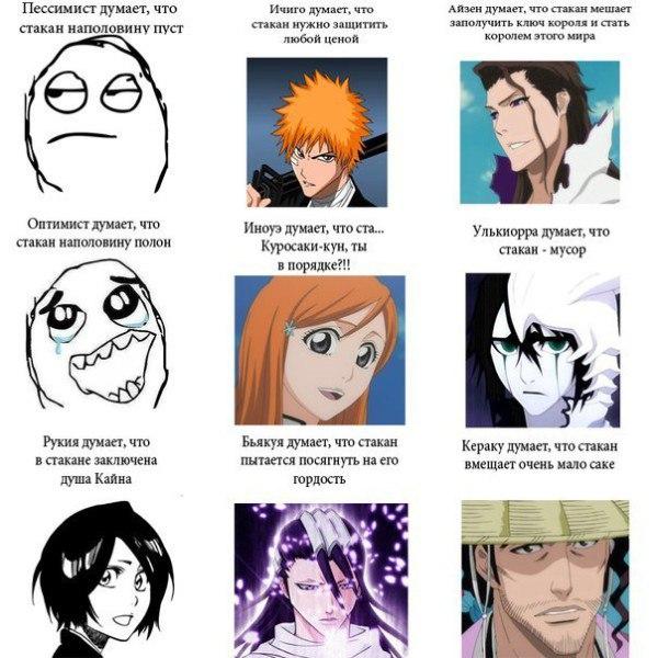 Картинки по аниме блич приколы