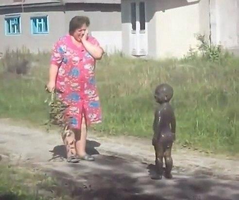 Мам, не бей я нефть нашел :D