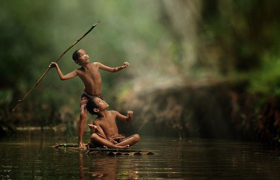 Будни сельских жителей Индонезии в ярких фотографиях Германа Дамара - 2
