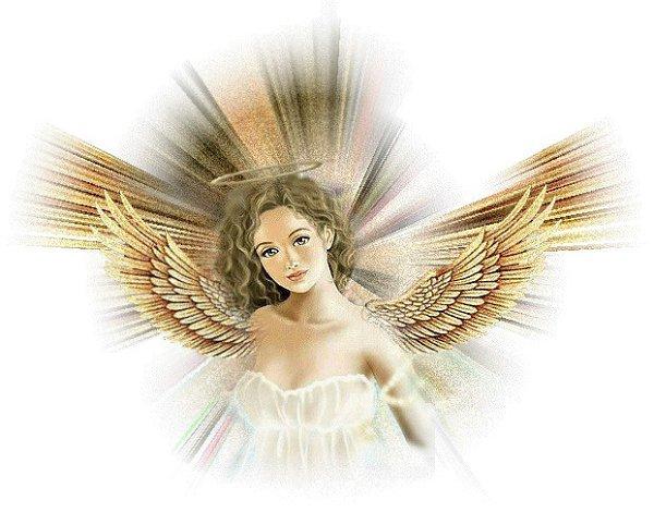 Гифы ангела хранителя, картинки черном