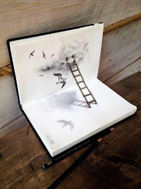 Работы карандашом.#вдохновение@ideas.life