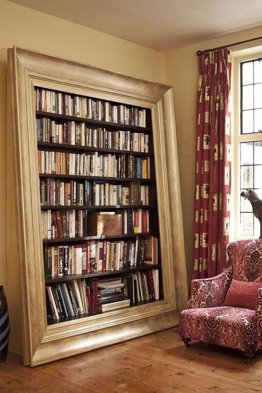 Любимые книги в интерьере.#интерьер@ideas.life - 2