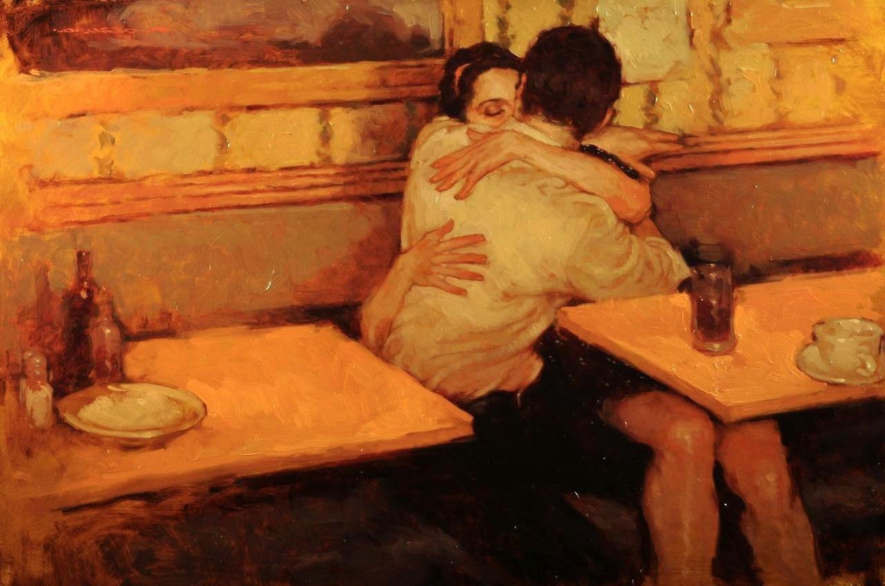 Человеческая нежность в картинах художника Джозефа Лорассо - 3