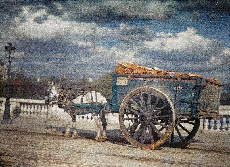 Цветные фотографии Парижа 1914 года. Париж — город огней. Он был любим по многим причинам на ... - 7