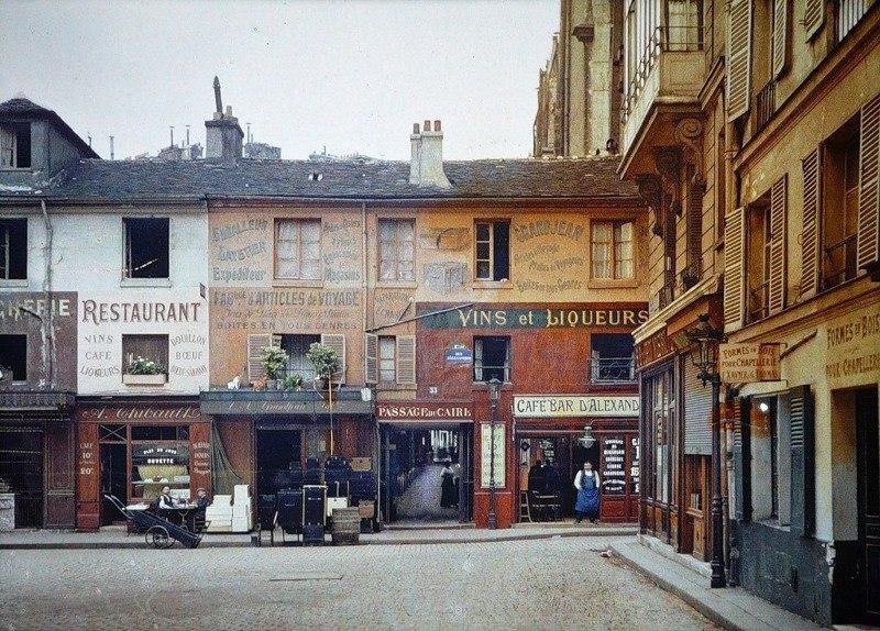 Цветные фотографии Парижа 1914 года. Париж — город огней. Он был любим по многим причинам на ... - 3