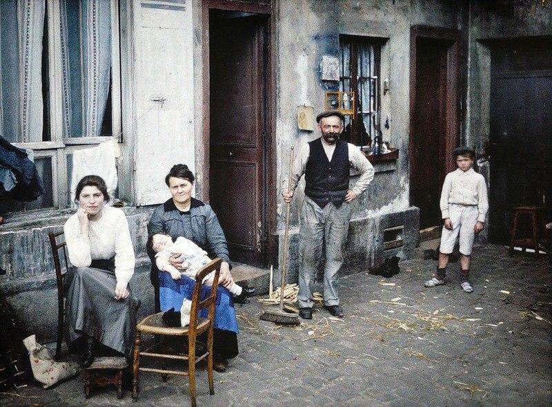 Цветные фотографии Парижа 1914 года. Париж — город огней. Он был любим по многим причинам на ... - 5