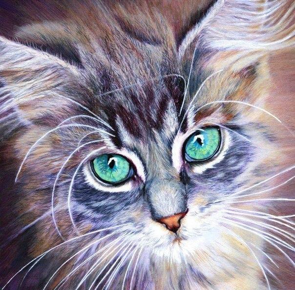 Рисунки цветными карандашами от Christina Papagianni (Греция) - 4