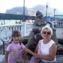 ФЕОДОСИЯ, я и дочка. из альбома «Мои фотографии»