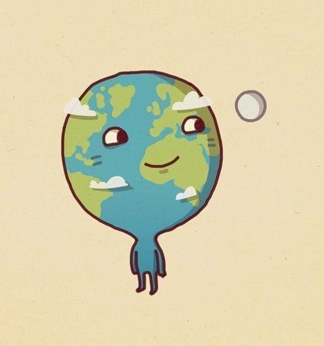 Прикольные рисунки планеты