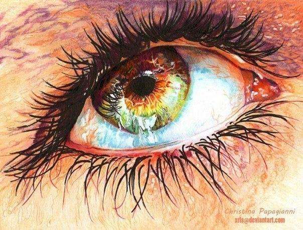 Рисунки цветными карандашами от Christina Papagianni (Греция) - 6