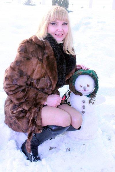 Фото: Ксюша, Алматы в конкурсе «Снеговики и снежные бабы»