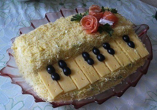 салат белый рояль фото и рецепт работы, кроме