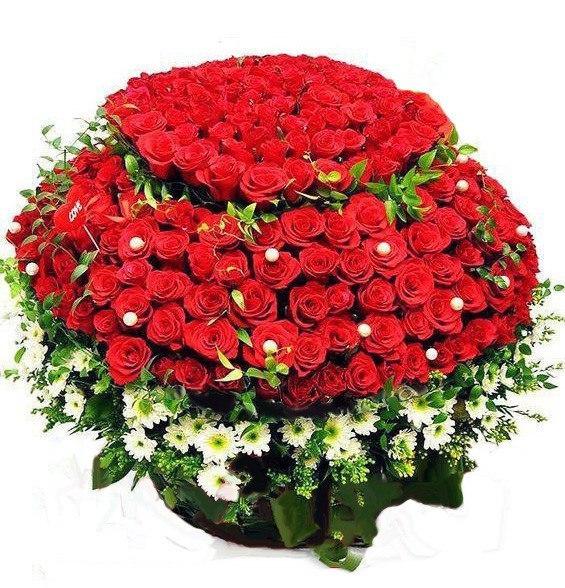 Поздравления подруге букетом цветов