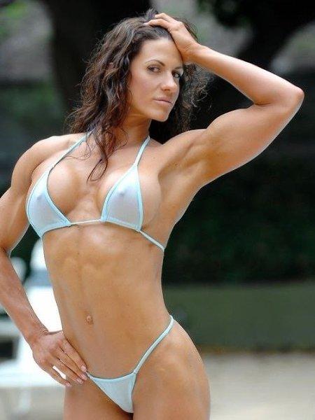 Muscular bikini women — img 12