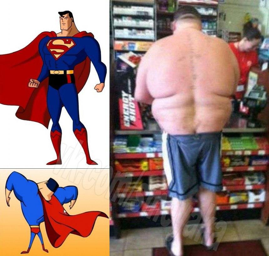смешные картинки про супермена если