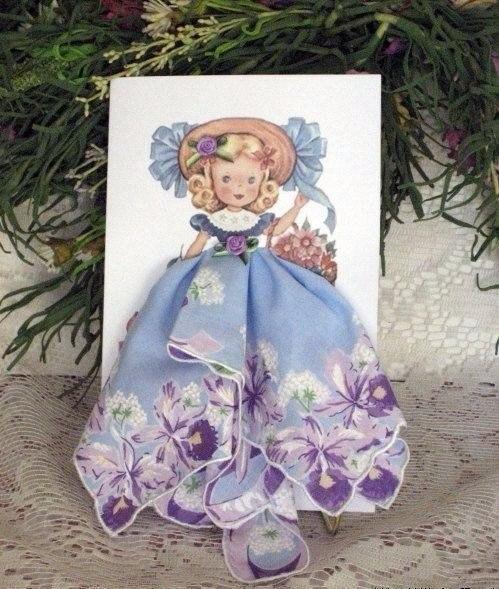 Открытка с платьем из платочка, переживайте погода картинках
