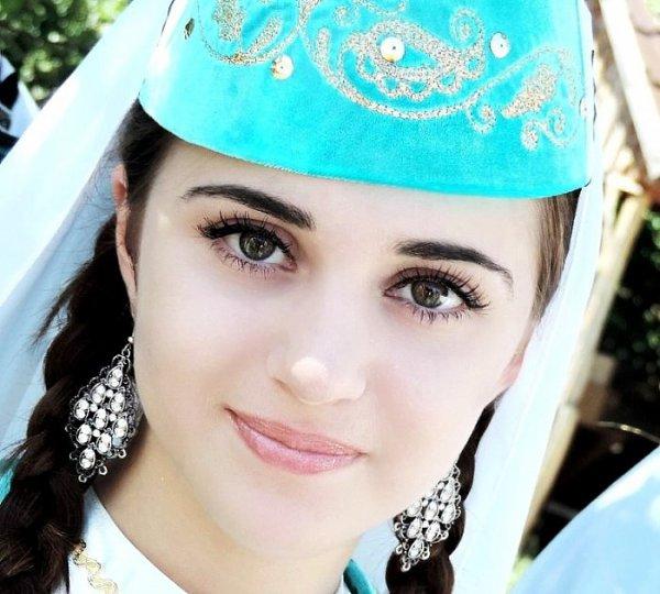 Красивая татарка картинки