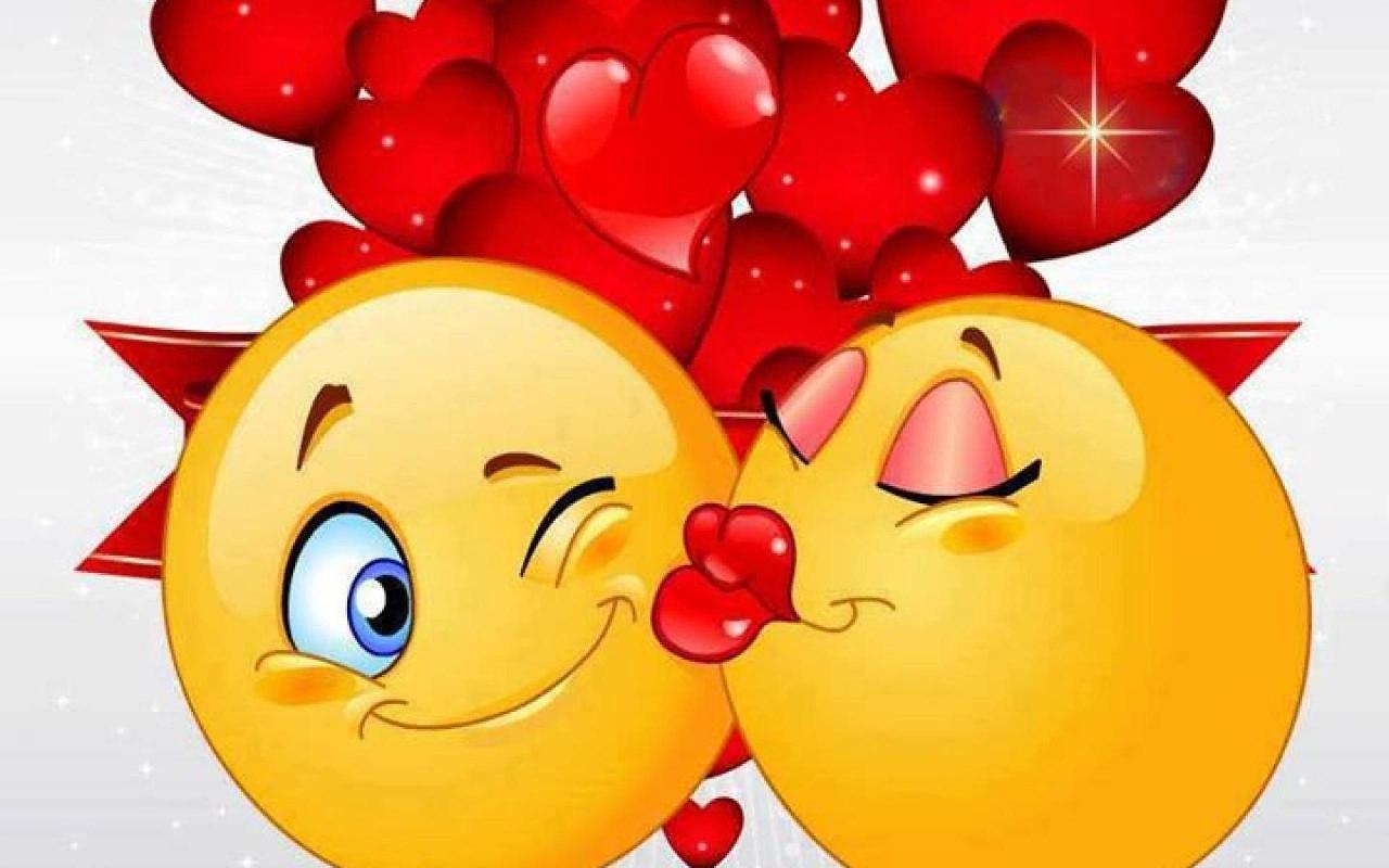Открытки поцелуи и сердца