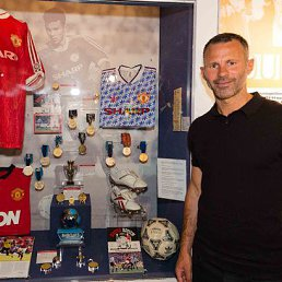 Ryan Giggs the legend Manchester United