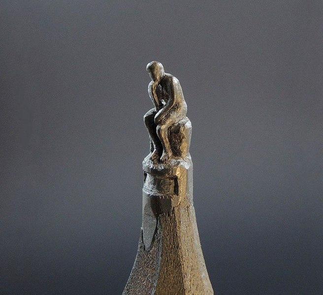 Скульптуры из карандашных грифелей, поразят ваше воображение.Все художники используют какие-то ... - 6