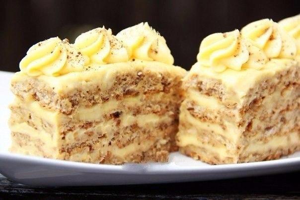 Рецепт ореховых пирожных. Хочу поделиться удивительным рецептом приготовления наивкуснейших ореховых ... - 9