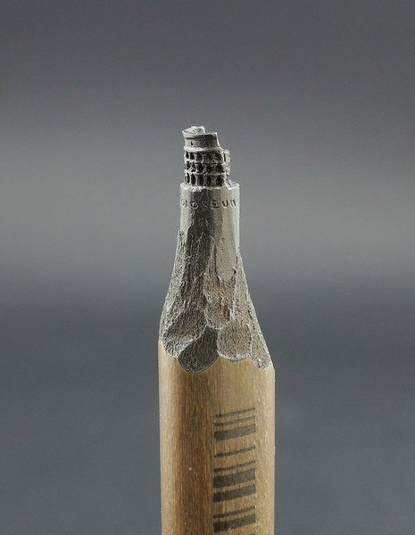 Скульптуры из карандашных грифелей, поразят ваше воображение.Все художники используют какие-то ... - 7