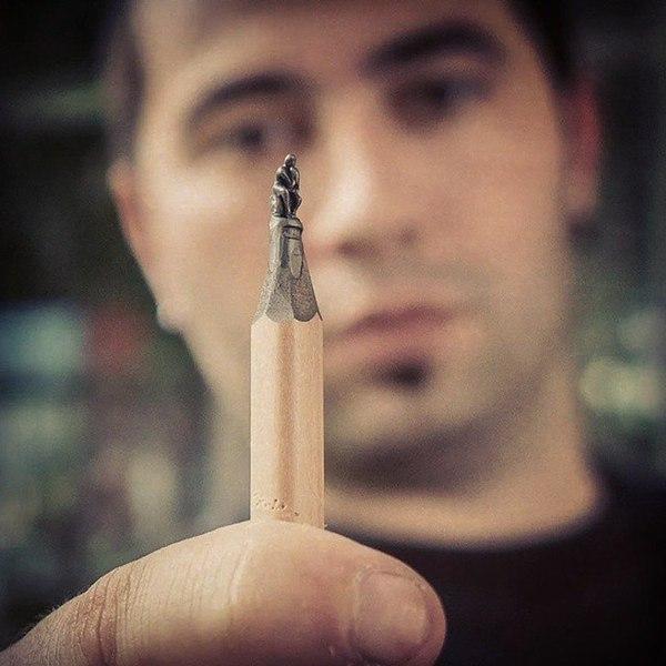 Скульптуры из карандашных грифелей, поразят ваше воображение.Все художники используют какие-то ... - 3