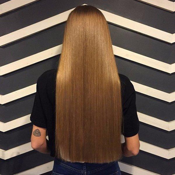 приведенных ниже фото длинных волос со спины первый раз этот