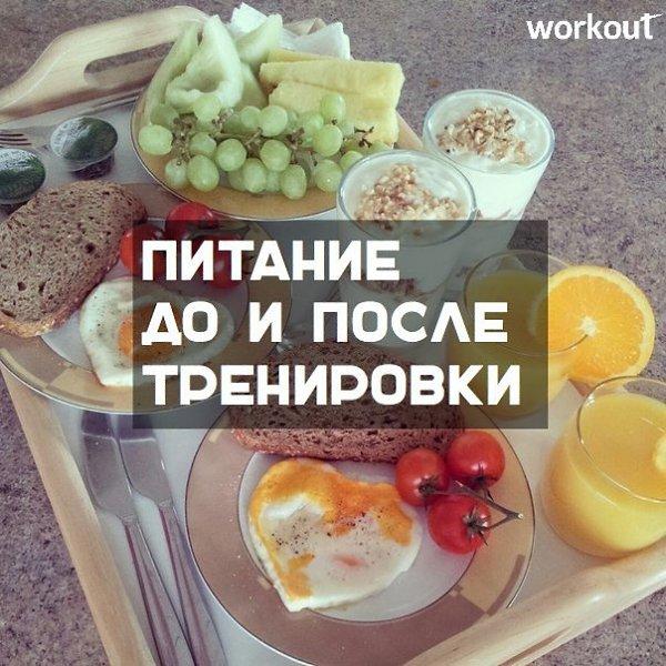 Питание чтобы похудеть тренировки