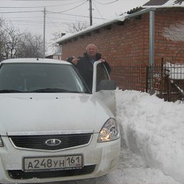 Владимр, 65 лет, Цимлянск