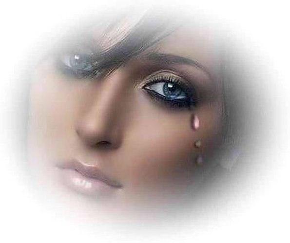 Картинка девушка слезы анимация