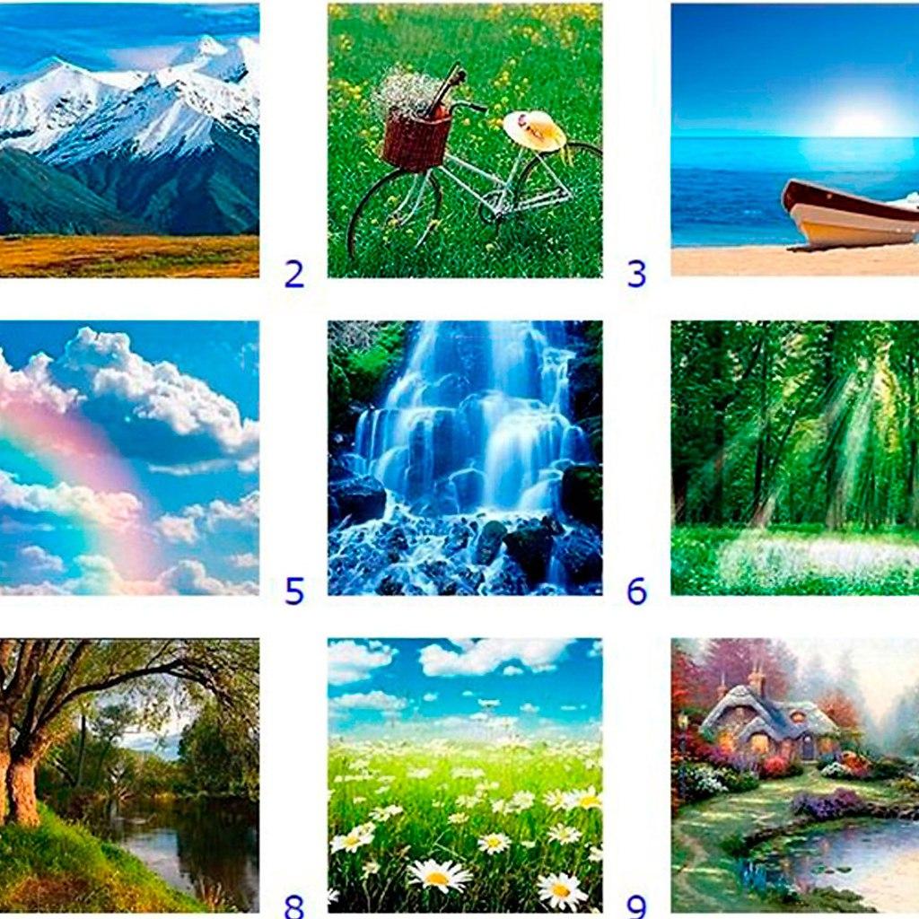 сочетание тест в картинках и фотографиях очень хорошо