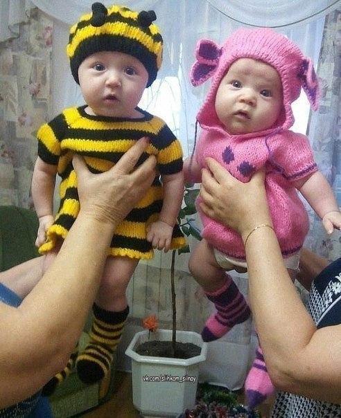 Пчелка и Лунтик ждут Ваших оценок!