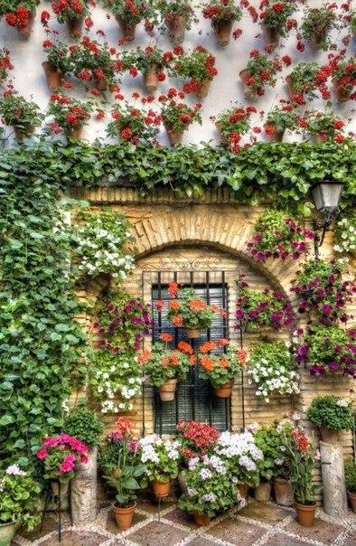 Цветущие улочки Испании
