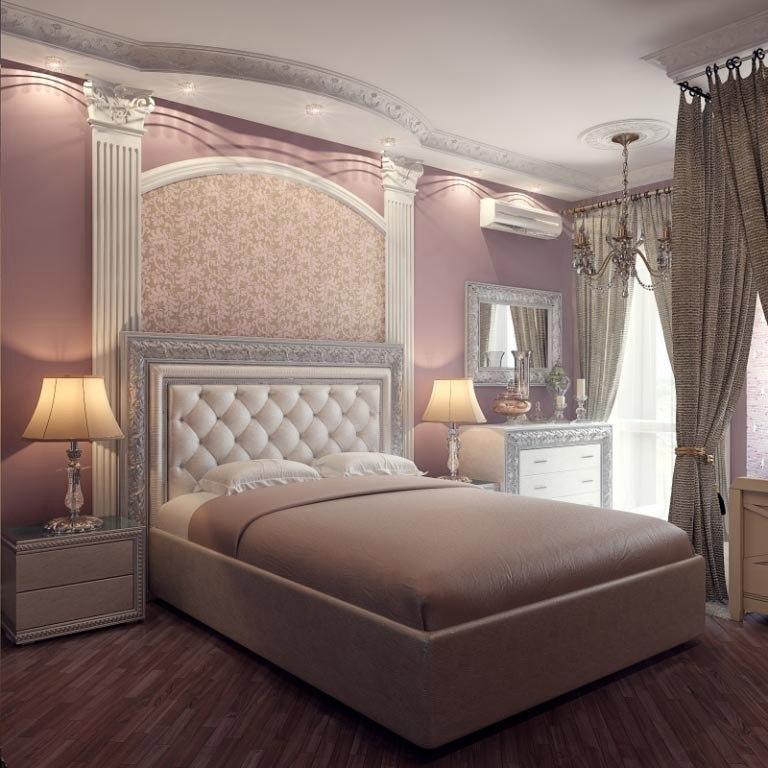 шлифовать нежная спальня фото картинки представляют собой