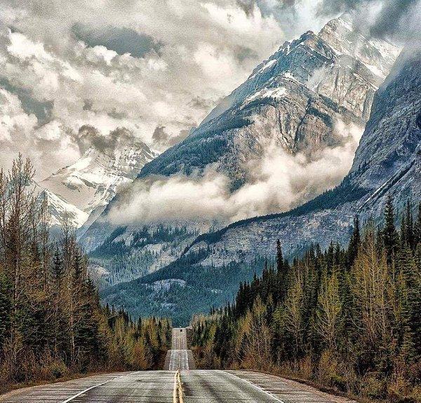 Дорога по которой можно ехать вечно.