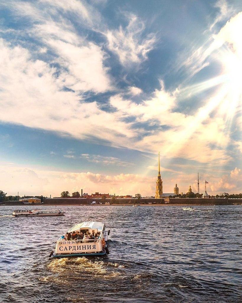 Питерское утро фото