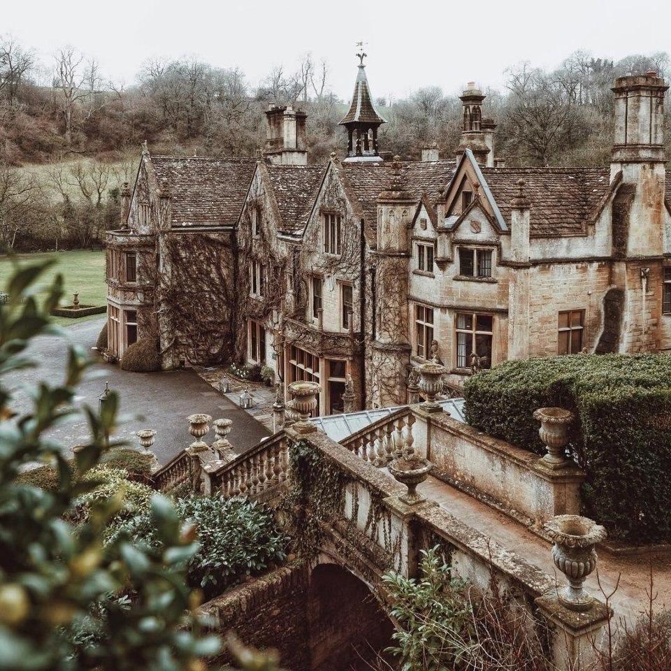 заброшенные дома в великобритании фото расследовать дело отправляют