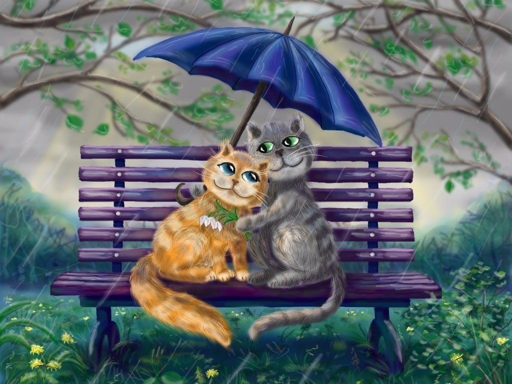 открытки с котами счастье это неравнодушна